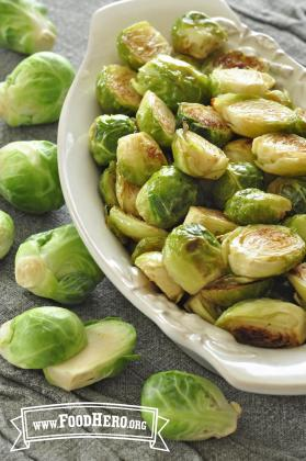 Photo of Roasted Brussels Sprouts