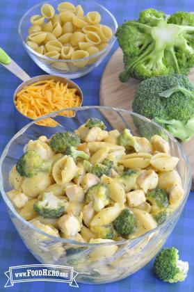 Chicken Broccoli Cheese Skillet Meal