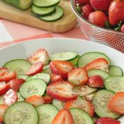 Photo of Strawberry Cucumber Salad