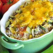 Photo of Vegetable and Beef Skillet Meal