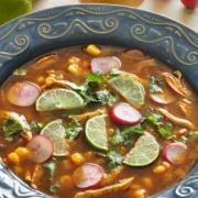 Recipe Image for Pozole with chicken