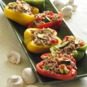 Photo of Stuffed Peppers with Turkey & Vegetables
