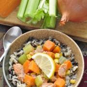Photo of Recipe Image for Wild Rice and Salmon Stew