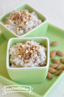 Photo of almond Rice Pudding