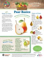 Pear Food Hero Monthly