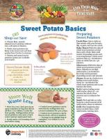 Sweet Potato Food Hero Monthly